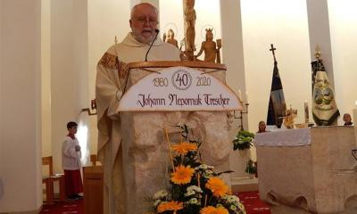 Fotoalbum 40-jähriges Priesterjubiliäum Pfarrer J. Trescher