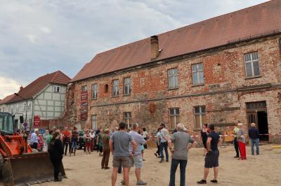 Fotoalbum Archäologische Führung im Klosterviertel Kyritz
