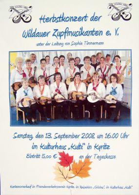 Foto des Albums: Zupfmusikanten, Kulturhaus Kyritz (13.09.2008)