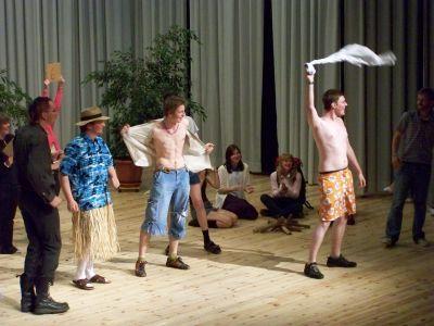 Foto des Albums: Letzter Schultag der Abiturklasse, Kulturhaus Kyritz (23.05.2008)