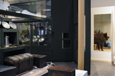 Foto des Albums: Aufbau der Ausstellung im Niederlausitz-Museum Luckau (05.11.2008)