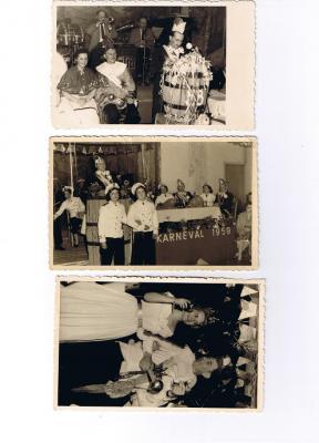 Fotoalbum Karneval in den 60-ziger Jahren