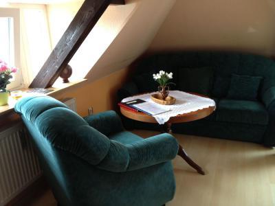 Fotoalbum Ansichten der Niemegker Ferienwohnung I (Dachgeschoss)