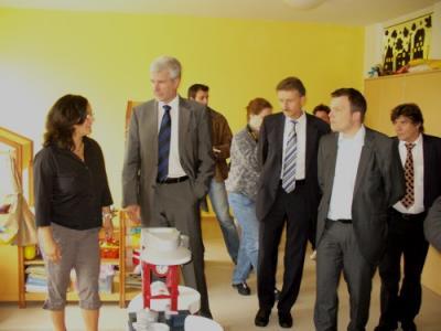 Fotoalbum Besuch des Ministers