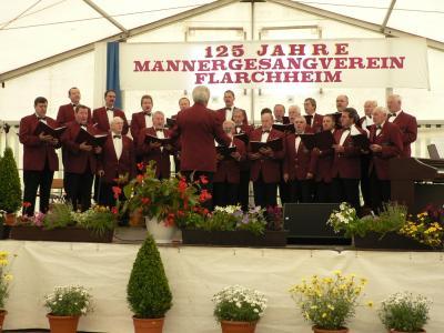 Fotoalbum Sängerfest 125 Jahre Männergesangverein 1884 Flarchheim