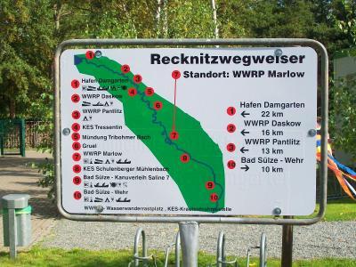 Fotoalbum Recknitzwegweiser