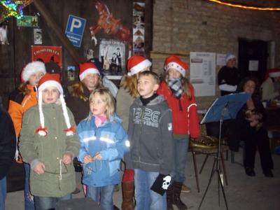 Fotoalbum Weihnachtsmarkt in Fischers Scheune in Milow