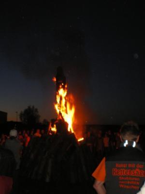 Foto des Albums: Hexenverbrennung der ungefährlichen Art.... (19.02.2010)