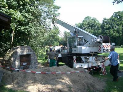 Fotoalbum Umbauarbeiten am Herrenhaus - Historisches Feld