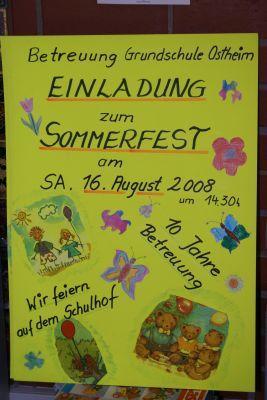Fotoalbum Sommerfest im Betreuungsverein der Grundschule Ostheim e.V.