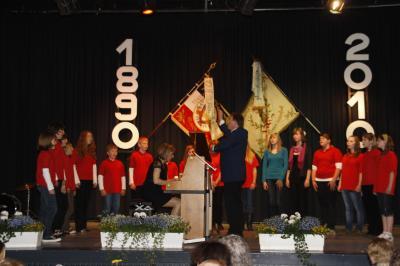 Fotoalbum Die Chöre des MGV beim Stiftungsfest in Marbach
