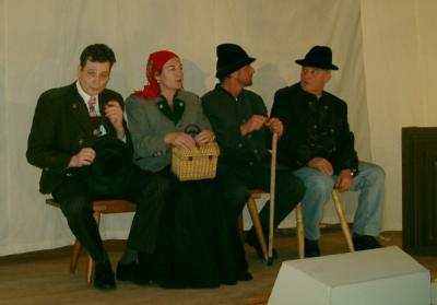 Fotoalbum Theater - Da Roagaspitz 2006
