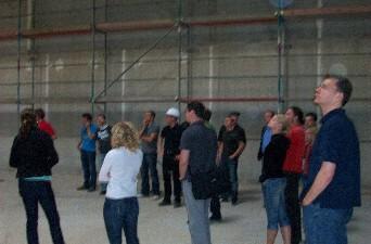 Foto des Albums: Baustellenexkursion mit Studenten der Bergakademie Freiberg (13.07.2010)