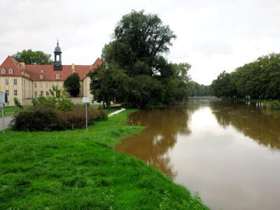 Fotoalbum Elsterhochwasser Sept. 2010