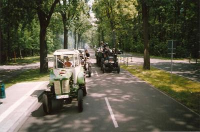 Foto des Albums: Sternfahrt zum Weltkulturerbe Schloss Sanssouci in Potsdam (01.07.2004)