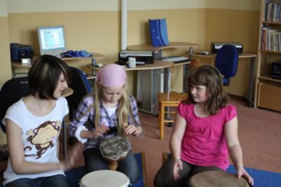 Fotoalbum Workshop Afrikanische Trommeln 2010
