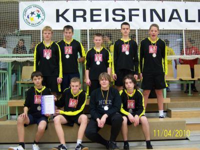 Fotoalbum Tolle Ergebnisse beim Kreisfinale Handball in Perleberg