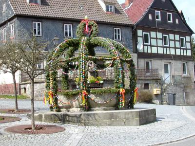 Fotoalbum Osterbrunnen- und Kirchweihbilder