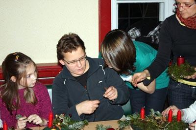 Fotoalbum Weihnachtsbasteln 2010