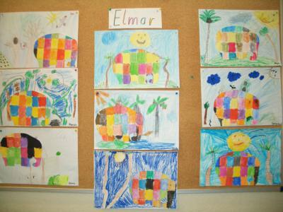 Fotoalbum Elmar- Werkstatt in der Klasse 1/2c