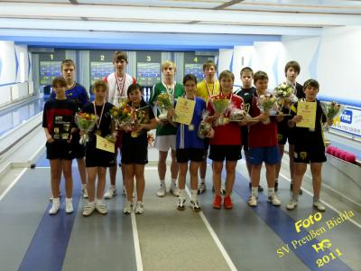 Fotoalbum Kegeln:  Kreiseinzelmeisterschaft der Jugend