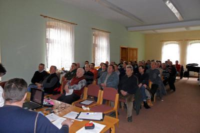 Fotoalbum Jahreshauptversammlung am 20,02,2011