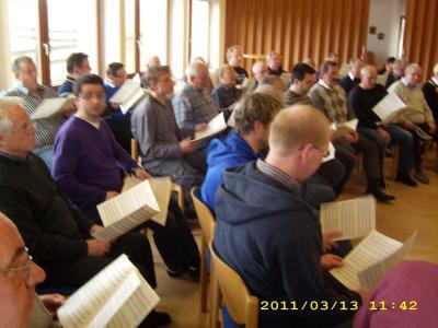 Fotoalbum Übungstag Männerchor in Hommershausen