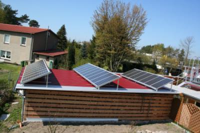 Foto des Albums: Aufständerung Photovoltaikmodule (31.03.2011)