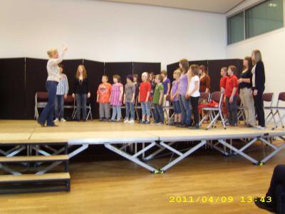 Fotoalbum Unser Kinderchor beim Seminar in Kassel