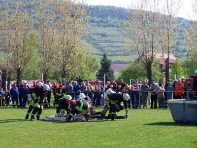 Fotoalbum Ausscheid der Freiwilligen Feuerwehr der Gemeinde Rhönblick
