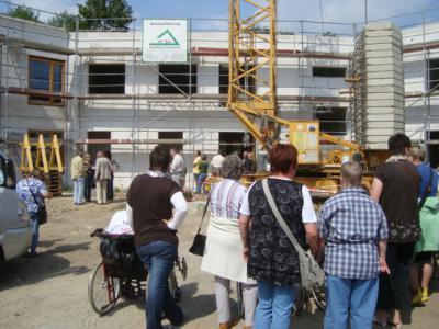 Foto vom Album: Richtfest der Wohnstätte Albrechtshof