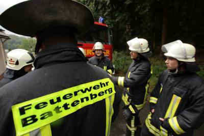 Foto des Albums: Einsatz Am Burghain Battenberg (24.06.2011)