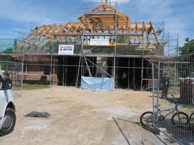 Foto des Albums: Richtfest des neuen Feuerwehrhauses in Radewege (14.07.2007)