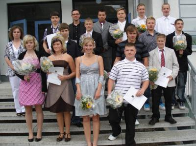 Foto des Albums: Abschluss der Klasse 10b Juni 2010 (30.06.2010)