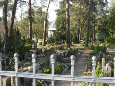 Fotoalbum Spaziergang über den Friedhof