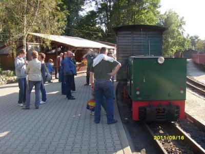 Fotoalbum Fahrt mit der Ns2 und Sonderzug Waldeisenbahn
