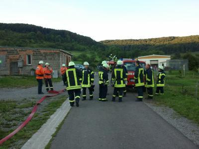 Fotoalbum Feuerwehrübung in Seeba der Freiwilligen Feuerwehr Rhönblick