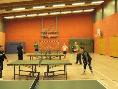 Fotoalbum Unsere Tischtennisspieler in Action