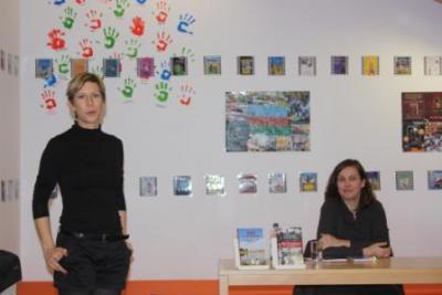 """Fotoalbum Bibliothekswoche """"Treffpunkt Bibliothek. Information hat viele Gesichter"""" (24. bis 28.10.2011)"""