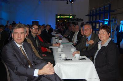 Fotoalbum Unternehmerfrühstück am 4.11.11  Ausrichter Firma Giggel