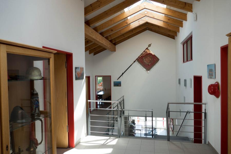 Feuerwehrhaus Fahrzeughalle