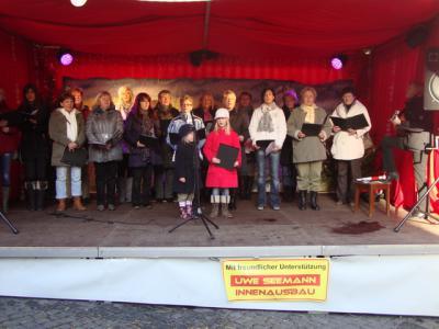 Fotoalbum Chorauftritte bei Advent in Luthers Höfen