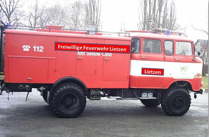 TLF-16 W50 der FF Lietzen ab 19.12.13