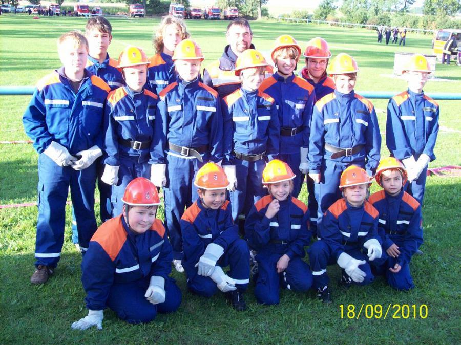 Team JFW Libbenichen beim AAS Dolgelin am 18.09.10