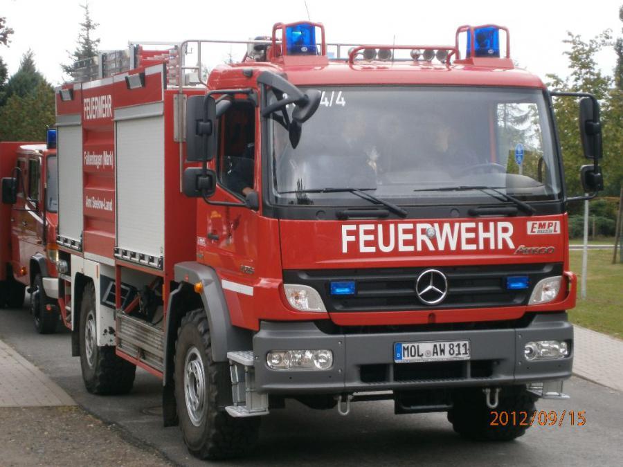 Einsatzfahrzeug TLF 20.40 der FF Falkenhagen