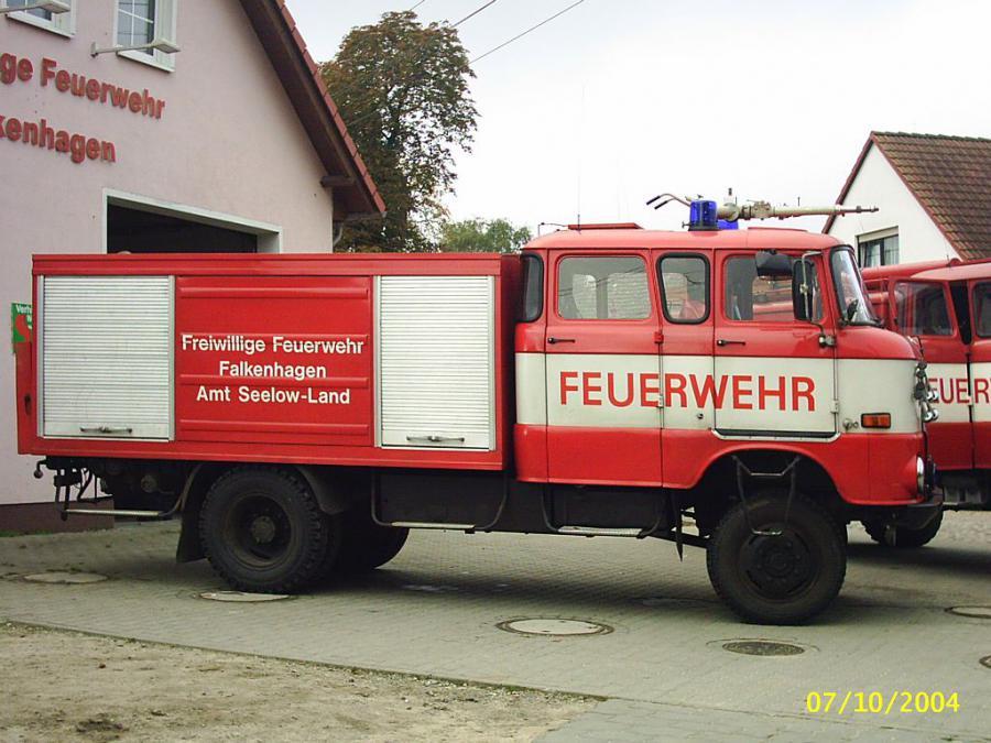 TLF-16 W50 Einsatzfahrzeug FF Falkenhagen