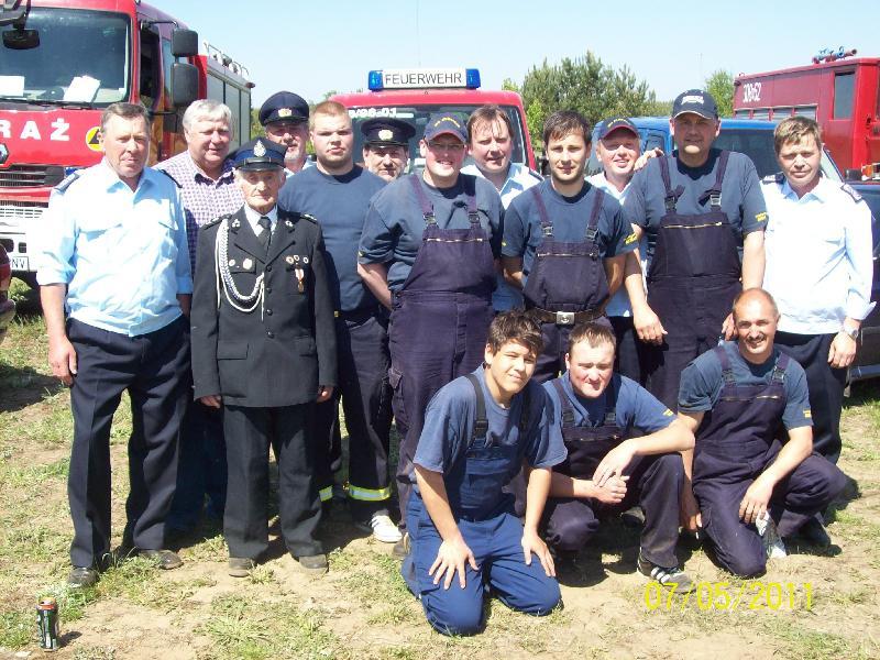 07.05.2011 Ausscheid Losno Gruppenfoto Team Alt Mahlisch in Losno