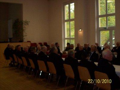 Foto des Albums: Alters-und Ehrenabteilung Kameradschaftsabend 22.10.10 7Fotos Fotos: Bm Lutz Bergmann (22.10.2010)