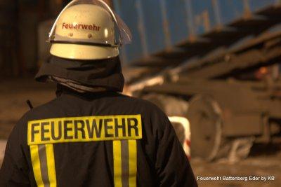 Foto des Albums: Einsatz bei Fa. Hasenclever, Müllcontainerbrand (03.02.2012)