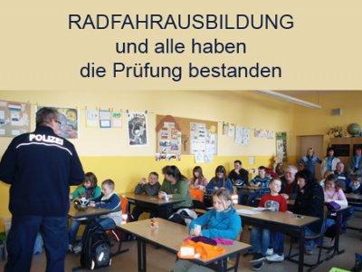 Foto des Albums: Radfahrausbildung und Prüfung in der Goethe-Grundschule Hohenleipisch (19.03.2012)